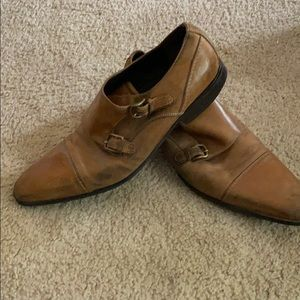 Monk strap dress shoes